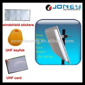 RS232/Wg26/RS485/RJ45 15m Parking Long Range RFID Reader Reads UHF Card pictures & photos