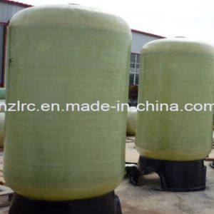 "FRP Pressure Softener Tank Industrial 30""-63""Diameter Tank Vertical FRP Tank pictures & photos"