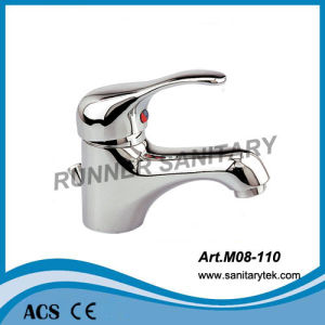Sngle Handle Basin Faucet Mixer (M08-110) pictures & photos
