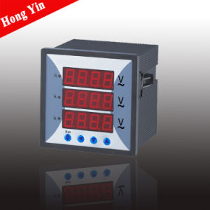 Three Phase CE Digital Voltage Meter pictures & photos