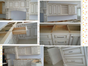 MDF Lacquer Kitchen Cabinet Kc068