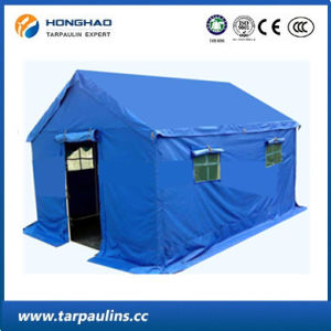 Durable Relief Tents Waterproof PVC Tarp/Tarpaulin for Tent pictures & photos