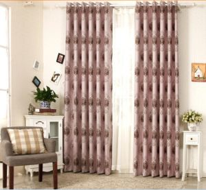 Simple Style Yarn Dyed Jacquard Fabric Curtain (MX-168) pictures & photos