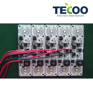 Power Supply Board PCB Assembly with Short-Circuit Protection