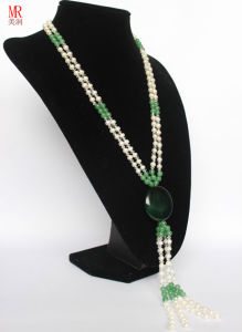 Fashion Cultured Long Pearl Necklace pictures & photos