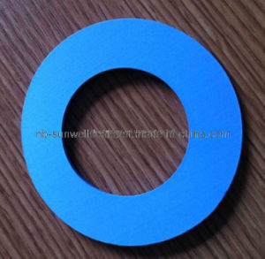PTFE with Glass Microspheres Modified PTFE Gasket (SUNWELL) pictures & photos
