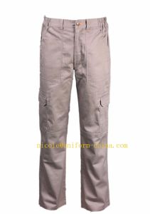 Flame Resistant and Anti-Static Mens Khaki 6 Pocket Caro Work Pants pictures & photos