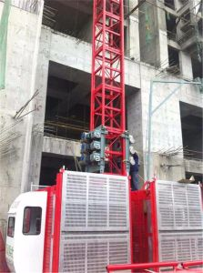 Hsjj Ce Approved 2t Construction Elevator Sc200/200 pictures & photos