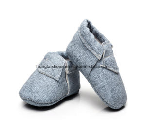 European Denim Baby Toddler Shoes