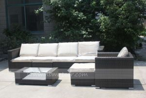 Mtc-271 All Weather Stylish Rattan Wicker Patio Sofa Set Garden Outdoor Furniture