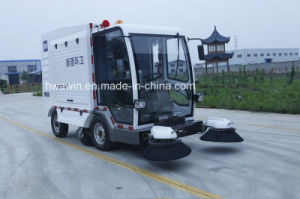 Powerful Broom Road Sweeper Truck Vehicle pictures & photos