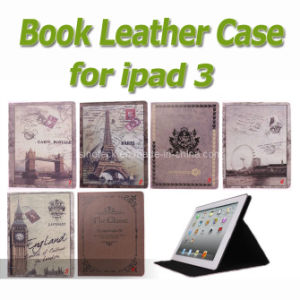 Magic Star Book Leather Case for iPad3 Cover