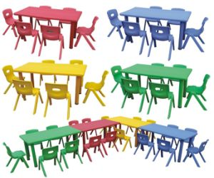 Children Table and Chairs (RS101)