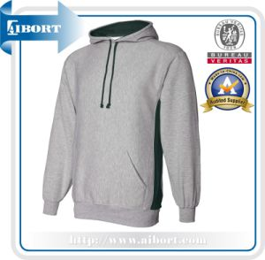 Winter Long Sleeves Hoody with Embroidery for Man (ATH-0018)