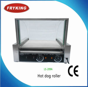 Glass Cover Ce Approved Hot Dog Roller pictures & photos