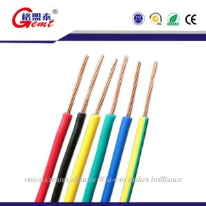 Colorful Bvr1*49 Copper Conductor Solid Soft Wire pictures & photos