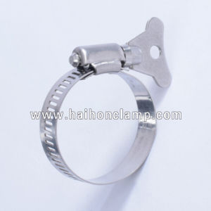 Butterfly Handle American Type Hose Clamps pictures & photos