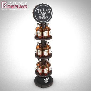 Floor Metal Wine Whisky Display Stand