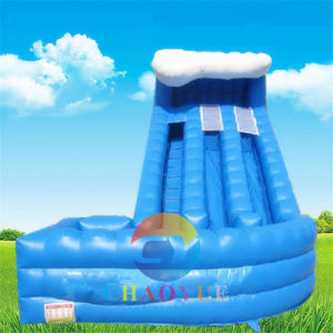 Wave Inflatable Water Slide with Ce Blower pictures & photos