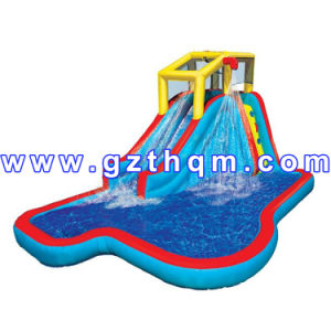 Jumping Castles Slide Inflatable Toys for Kids/Inflatable Water Park Toys for Kids pictures & photos