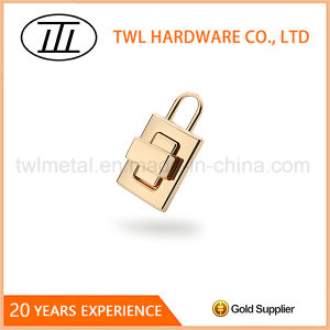 Lock Shaped Rectangle Thin Bags Turn Lock Hardware pictures & photos