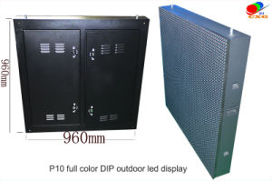 Pixel P10 HDMI Outdoor Waterproof Best Price HD Perimeter Large LED Display Screen for advertisement pictures & photos