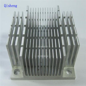 Heatsink, CNC Machining, Black Anodized,