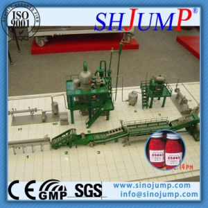Commercial Scale Chili Sauce Processing and Bottle Filling Machines in SUS 304/316 Material pictures & photos
