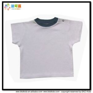 Plain Dyed Baby Clohtes Blank Newborn Shirts pictures & photos
