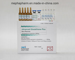 Hot Sell Lower Price Rex Injectable Glutathione for Skin Whitening 1500mg 3000mg (5+10) pictures & photos