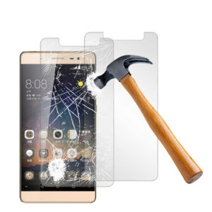 for Zte Imperial Max Clear Tempered Glass Screen Protector