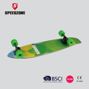 Speedzone Super Cruiser Skateboard Longboard pictures & photos
