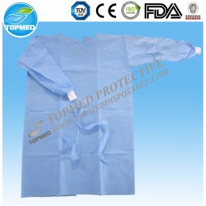 Waterproof Disposable Isolation Gown Disposable Medical Isolation Gown pictures & photos