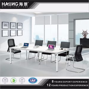 Melamine Conference Table Steel Frame Meeting Table