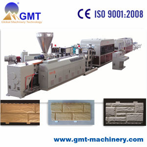 PVC Stone Siding Panel Board Plastic Machine Twin Screw Extruder