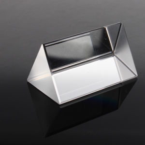 Optical Glass Prisms Fused Silica Right Angle Triangular Prism