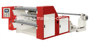 Normal Speed Horizontal Slitting Pet Film Roll Machine (WFQ-1300A) pictures & photos