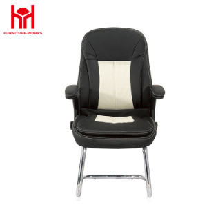 Excellent Mif Black Leather Executive Side Reception Chair With Sled Base Pdpeps Interior Chair Design Pdpepsorg