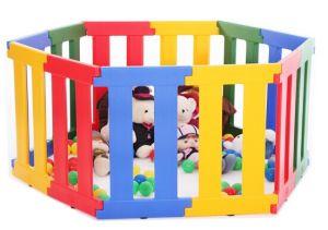 China Baby Safe Colorful Nanny Panel Doorways Plastic Railings