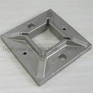 Inox Square Base Plate for Post