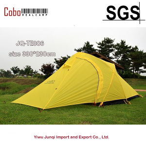 Cobo Tent 15D Silicone Fabric Double-Layer Camping Tent Light Weight Tent