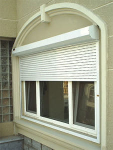 European Rolling / Roller Shutter Window (45W) pictures & photos