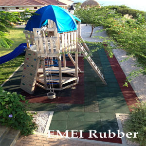 Outdoor Play and Patio Tile-Deck Tiles, Outdoor Rubber Tiles pictures & photos