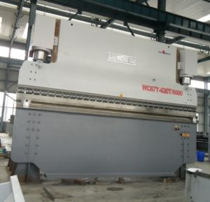 Hydraulic Press Brake Wc67y-630t/6000 pictures & photos
