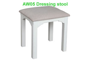Stool/Dressing Stool/Wood Stool/Bedroom Furniture