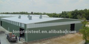 High Strength Wide Span Prefabricated Steel Structure Shed pictures & photos