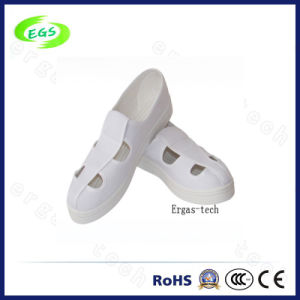 White Color Anti-Static Cleanroom Shoes Aanti-Statics Work Shoes pictures & photos