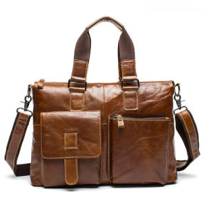 China Leather Office Bags For Mens