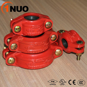 Grooved Pipe Fittings 300psi Rigid Coupling for Fire Protection System pictures & photos