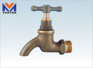 "Brass Bib-Cock/Tap/Faucet, 1/2"", CE Certificated (VT-6619) pictures & photos"